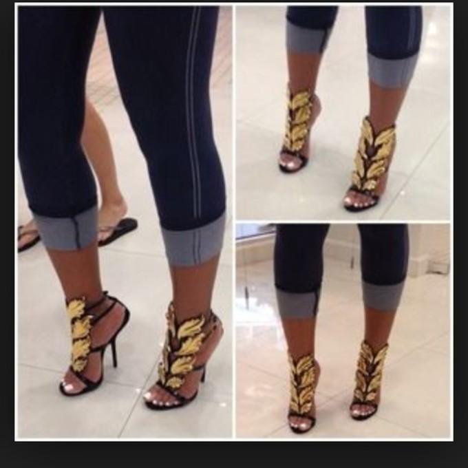 giuseppe zanotti high heel shoes