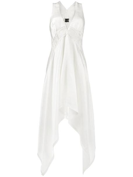 KITX dress women midi white cotton