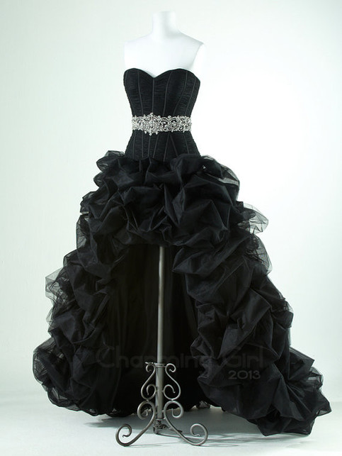 Charming Girl | Gorgeous Black with high low prom dresses | Online Store Powered by Storenvy