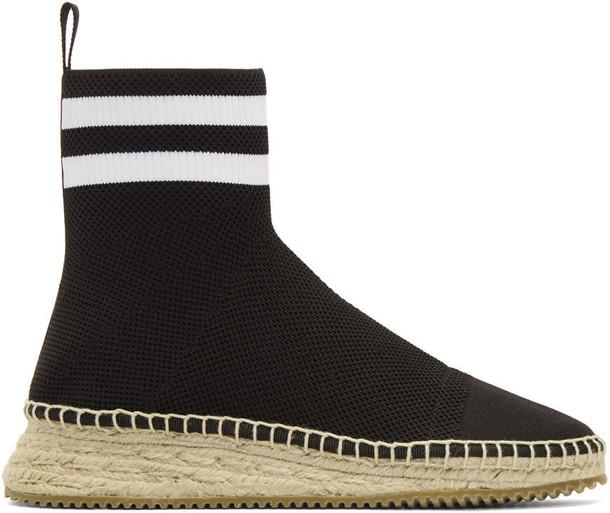 Alexander Wang high sneakers black shoes
