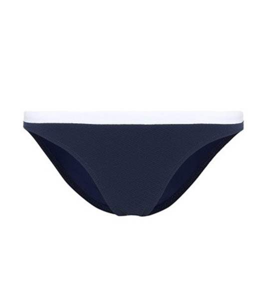 Heidi Klein Harbor Island bikini bottoms in blue