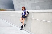 kryzuy,blogger,top,shorts,shoes