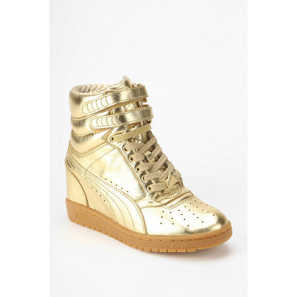 Puma X Rime Hidden Wedge High-Top Sneaker - Polyvore