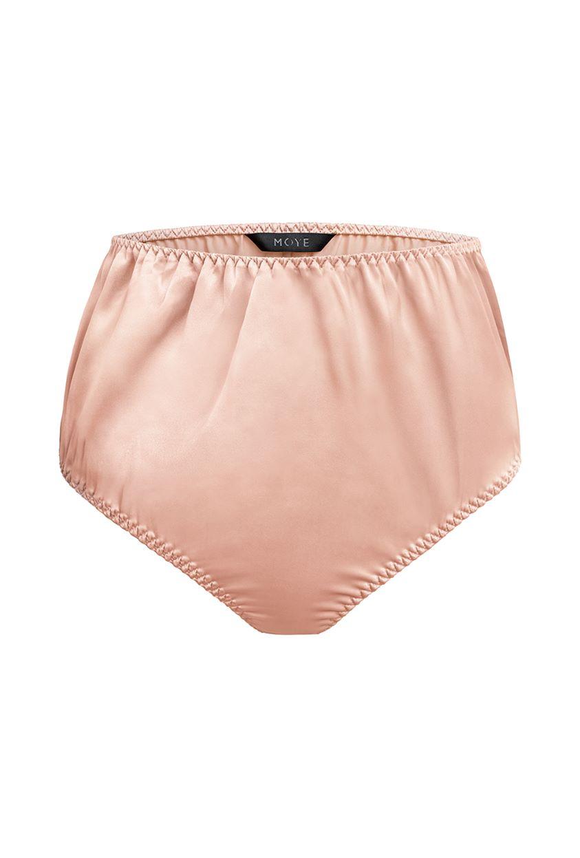 Silk briefs - Rosie pink
