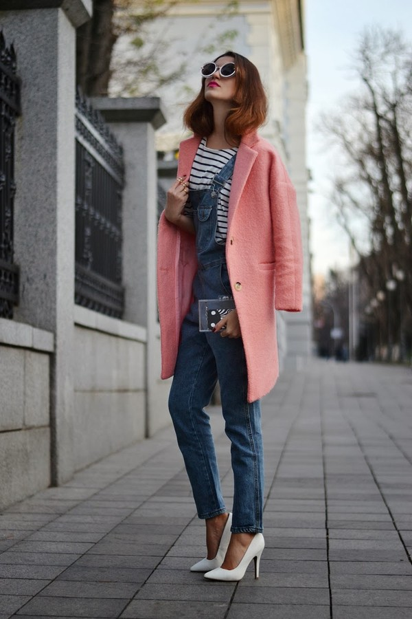 tina sizonova coat bag shoes pants t-shirt jewels