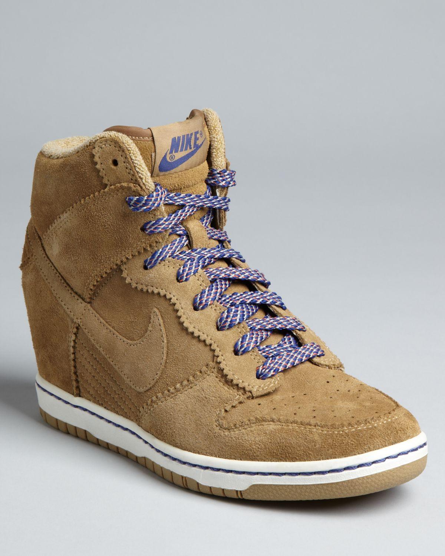 Nike High Top Wedge Sneakers