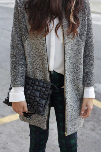 coat grey bag origami cardigan fashion lovely beautiful classy women's coats t-shirt wow style sweet