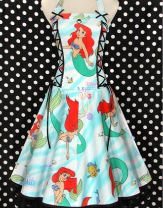dress disney princesses ariel the little mermaid the little mermaid