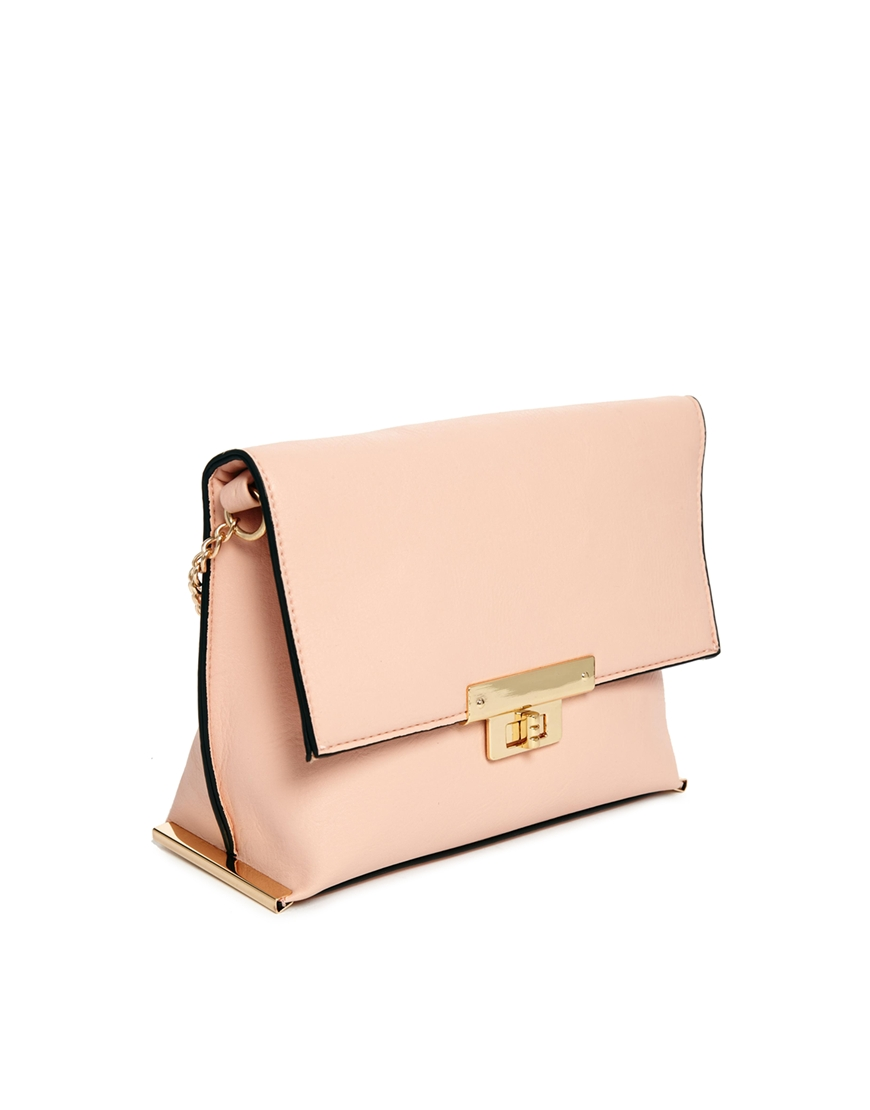 New Look Coco Cross Body Bag with Chain Strap at asos.com