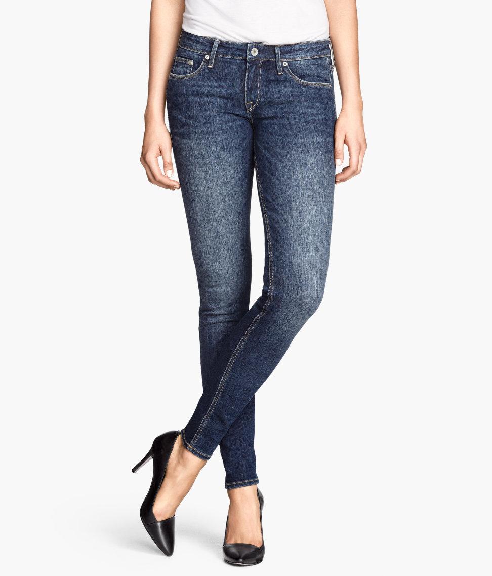H&M Skinny Low Jeans £29.99