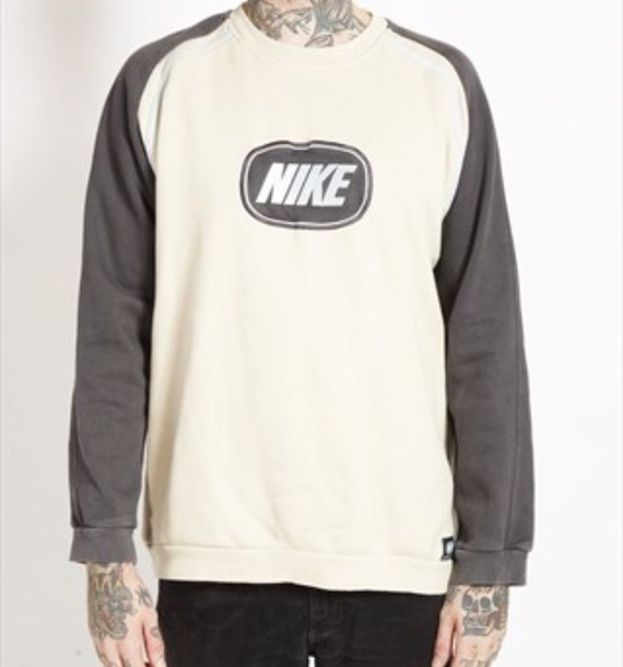 sweater nike raglan sweatshirt