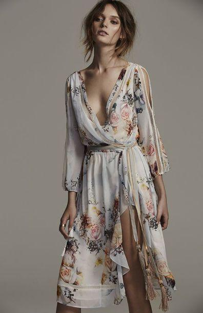 Dress Boho Bohemian Bohemian Dress Hippie Hippie Chic Hippie Dress Summer Dress Spring