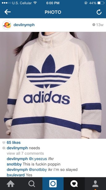 sweater adidas nike