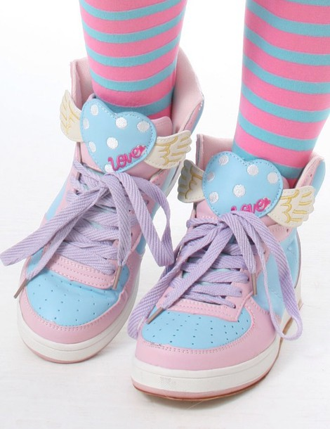 shoes kawaii shoes pastel pastel sneakers