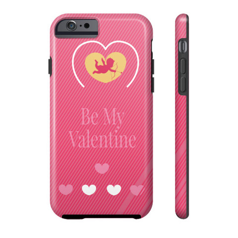 Be My Valentine Cupid iPhone Case