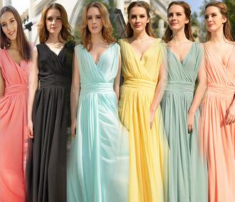 vintage dress fashion chiffon beauty fashion shopping girly