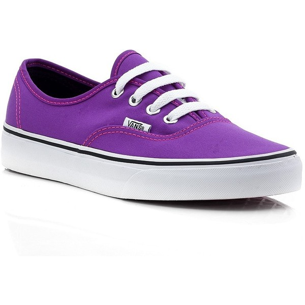 Vans Neon Authentic Trainer - Polyvore