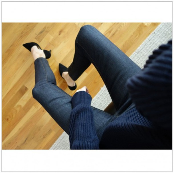 style by kling jeans shoes sweater