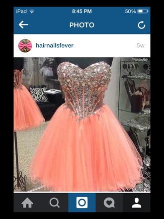 dress orange orange dress cocktail dress fashion fancy dress fancy glitter glitter dress sparkle sparkly dress partty dress party dress
