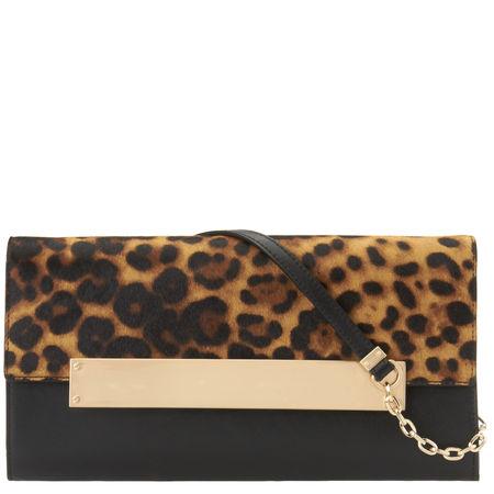 Nine West: Leather Clutch Bag
