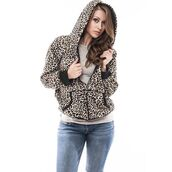 jacket,leopard print,hoodie,sweater,sportswear,animal print