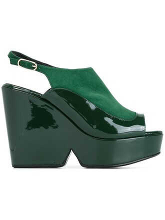 sandals green shoes