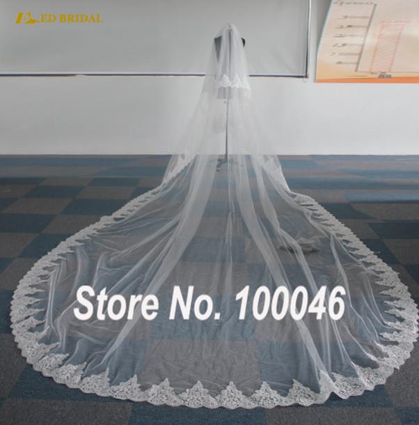 Hair accessory: ed bridal, chapel train wedding veils ...