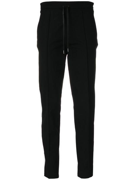 Joseph cropped women spandex cotton black pants