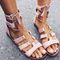 Pink ali sandal – needmystyle