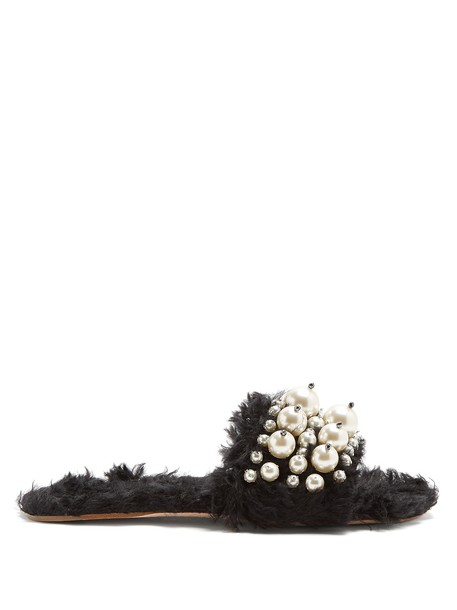 Miu Miu embellished black shoes