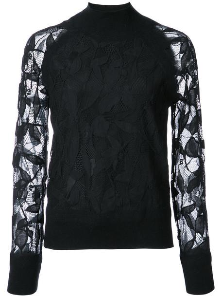top women cotton black silk