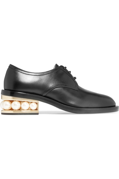 Nicholas Kirkwood - Casati Derby embellished leather brogues