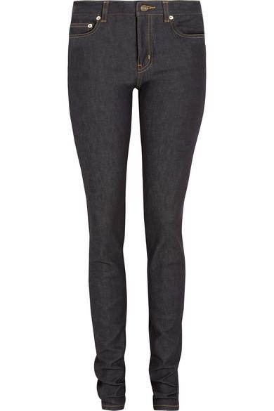 Saint Laurent|Mid-rise skinny jeans|NET-A-PORTER.COM