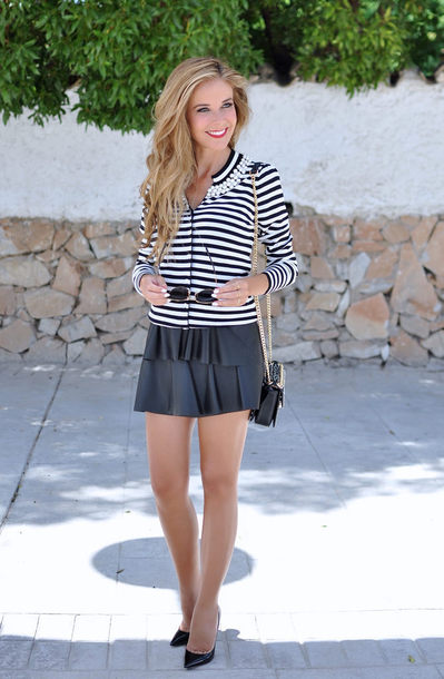 te cuento mis trucos blogger skirt shoes bag sunglasses