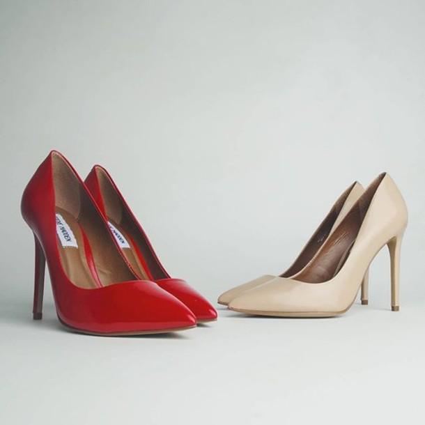 shoes steve madden zooshoo zooshoo shoes heels simple heels nude heels red  heels steve maddens steve