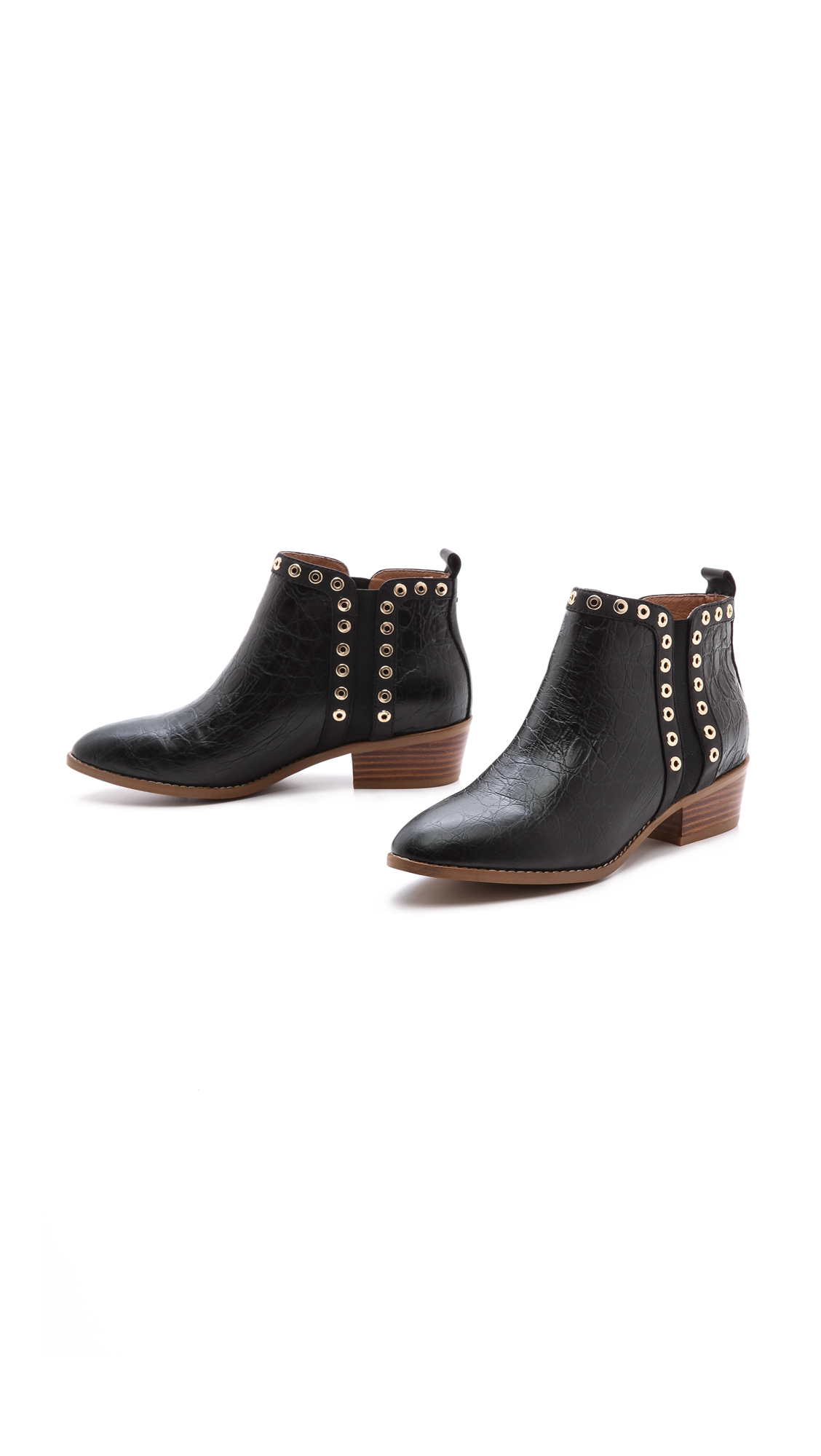 Yosi samra devin booties with grommets
