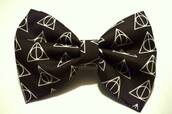 jewels,hair bow,bows,harry potter,harry potter and the deathly hallows,black