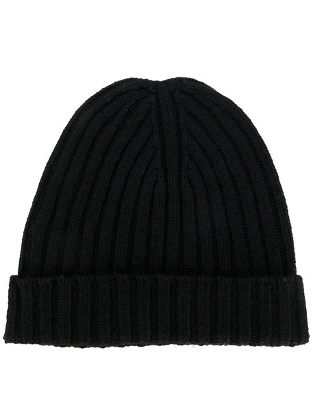 Bear Hug women beanie black hat