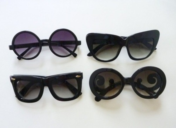 sunglasses black circle