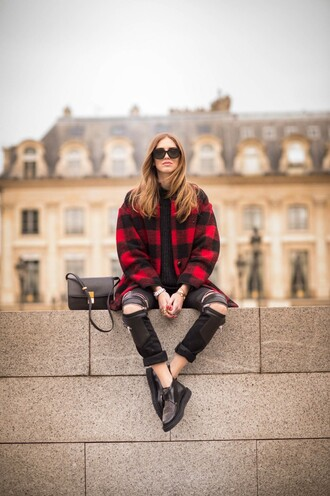 the blonde salad blogger coat bag pants