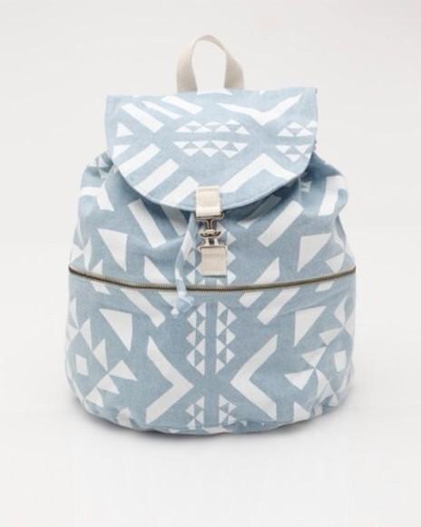 bag blue rucksacks