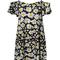 Attractive cheap more than 70% off multicolor daisy floral print spaghetti strap cold shoulder dress | 21.9800