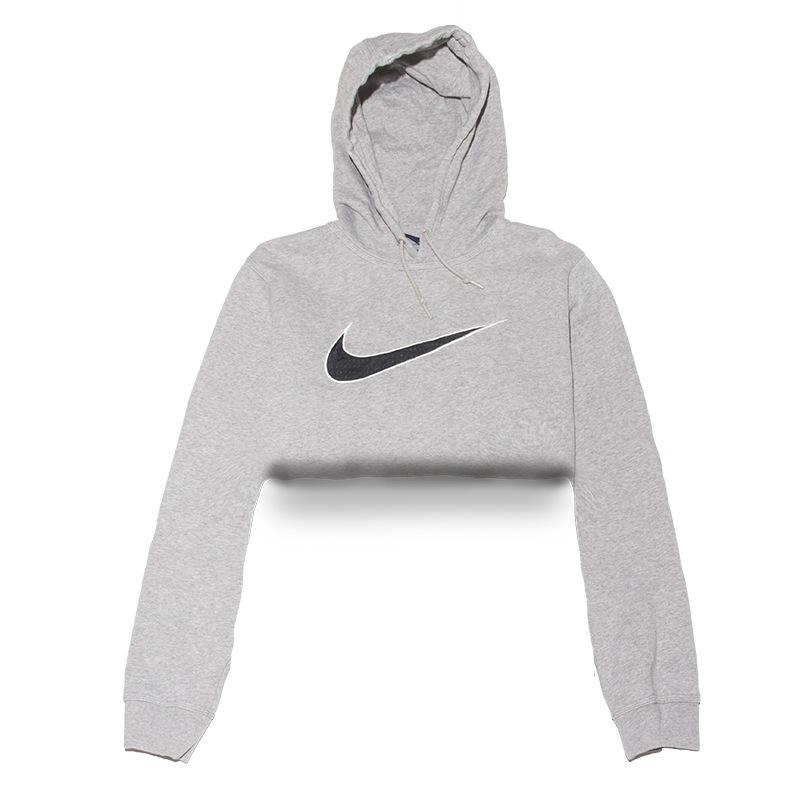 Classic Nike Hoodie Crop Top