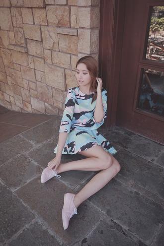 tricia gosingtian t-shirt skirt shoes