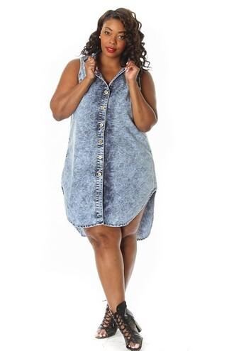 dress plus size denim plus size denim dress denim dress pinkclubwear plus size trendy plus size pinkclubwear denim dress