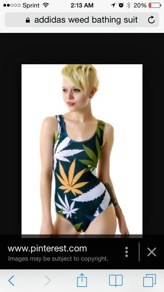 shorts weed design