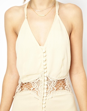 Jarlo | Jarlo Siobhan Cami Mini Slip Dress with Lace Insert at ASOS