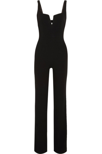 Galvan jumpsuit black