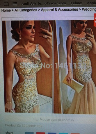 dress pretty style sexy dress see through dress prom dress prom gown prom shoes gold sequins gold dress silver dress