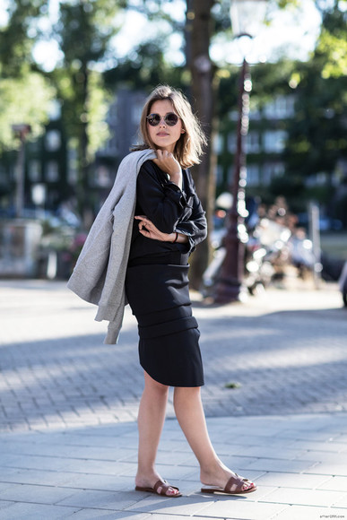 after drk skirt shoes sunglasses